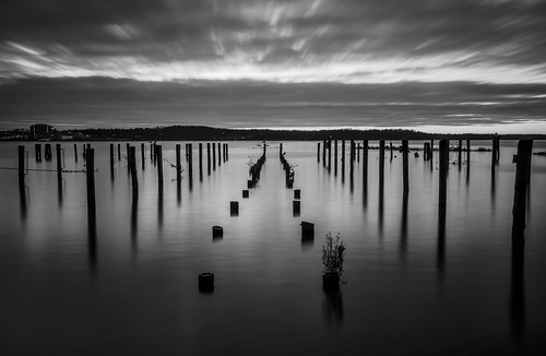 Hints of Sunrise B&W by Geoff Livingston