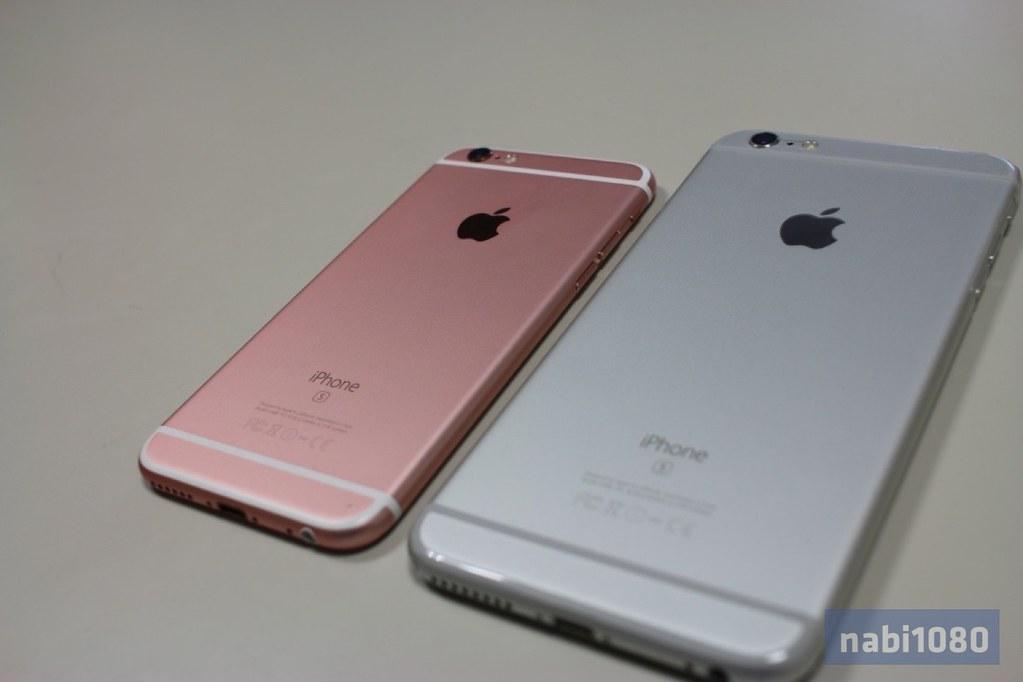 iPhone 6sローズゴールド07