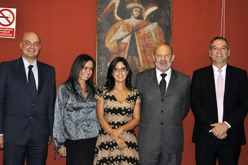Armando Casis Zarzar, Frida Delgado Nachtigall,  Mariana Alegre Escorza y Pedro Belaunde Martínez