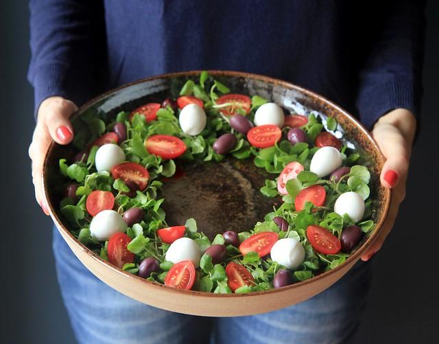 guirlanda de salada
