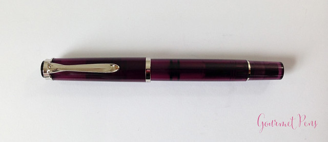 Review Pelikan M205 Classic Amethyst Fountain Pen @AppelboomLaren (2)