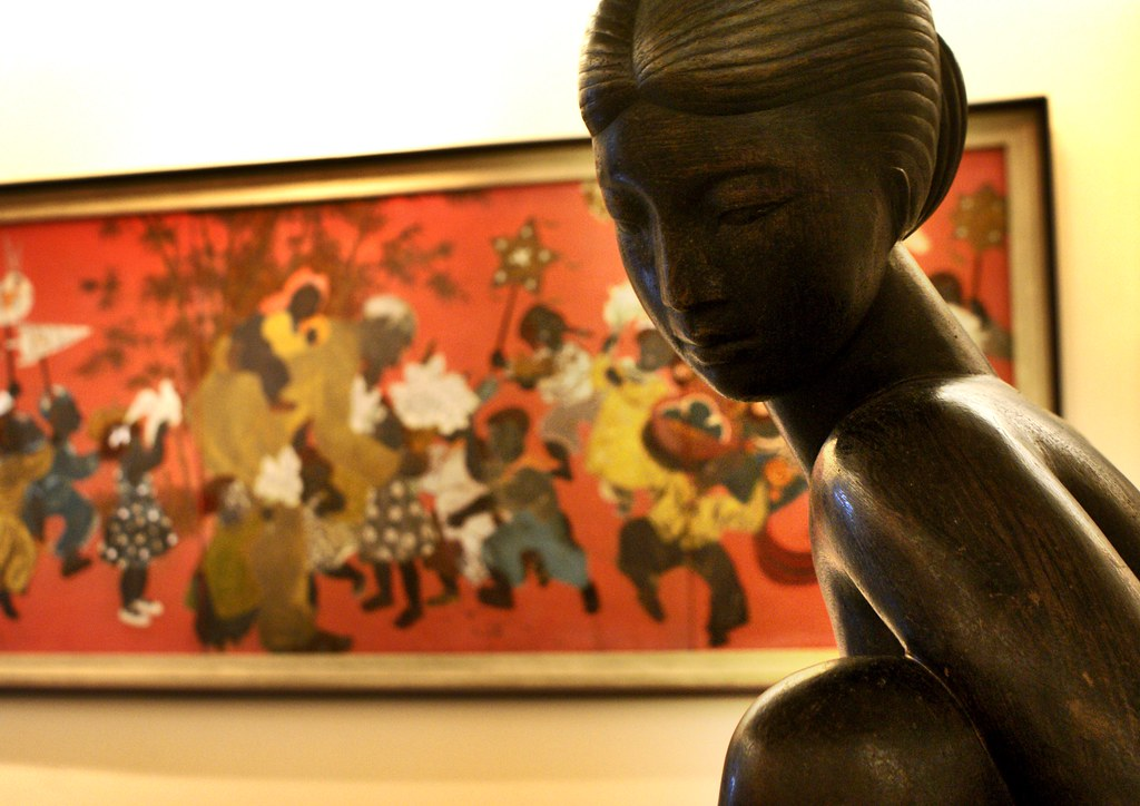 Superbe musée des Beaux Arts à Hanoi.