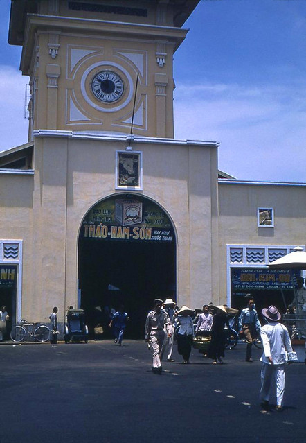 SAIGON 1950s - Ben Thanh Market