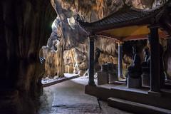 Cave Buddha. Bich Dong temple near Tam Coc, Vietnam