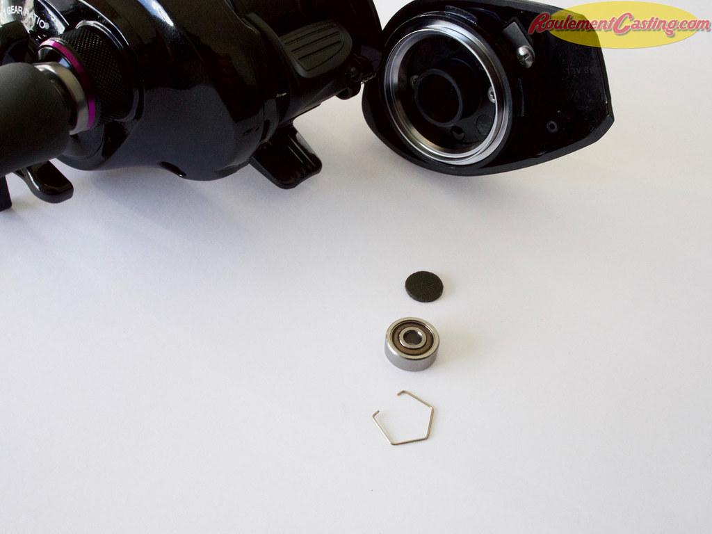 Shimano Brenious Spool Bearings Upgrades #3