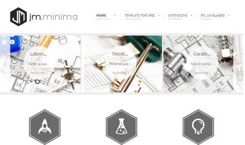 JoomlaMonster JM Minima v1.02 - Joomla Template