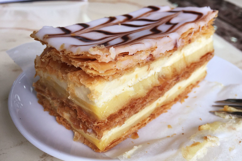 Vanilla slice, Delitalia Gourmet Foods