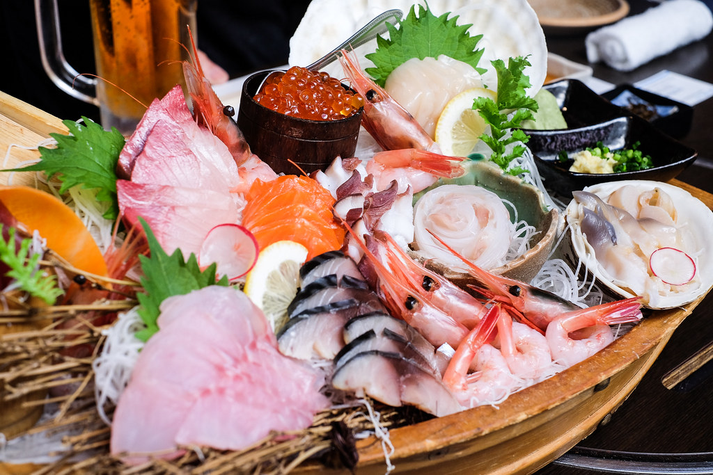 Hokkaido-Denpachi-Sashimi