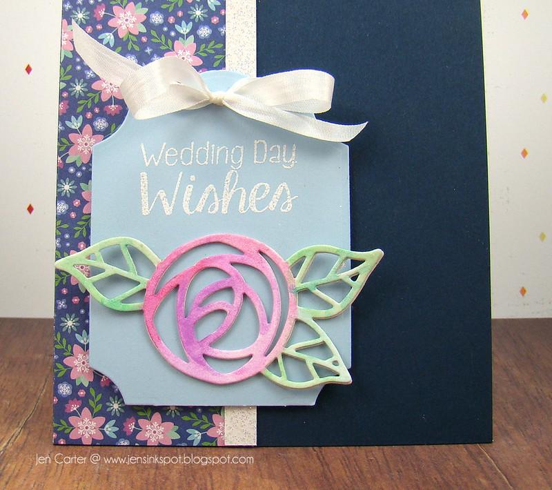 Jen Carter Wedding Wishes Flower Closeup