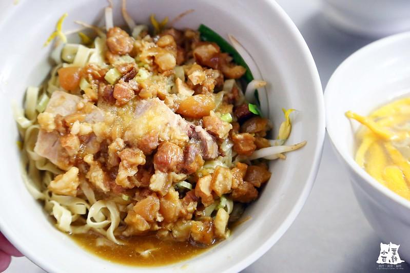 【新北市三重美食小吃】隱藏版美食。三重大仁街平價麵店,來自台南的好吃意麵