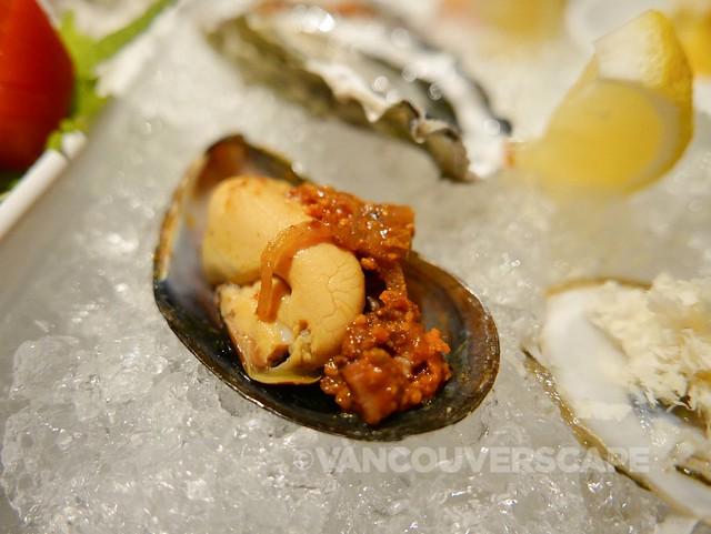 Ancora Salt Spring Island Mussel Peruvian Escabeche