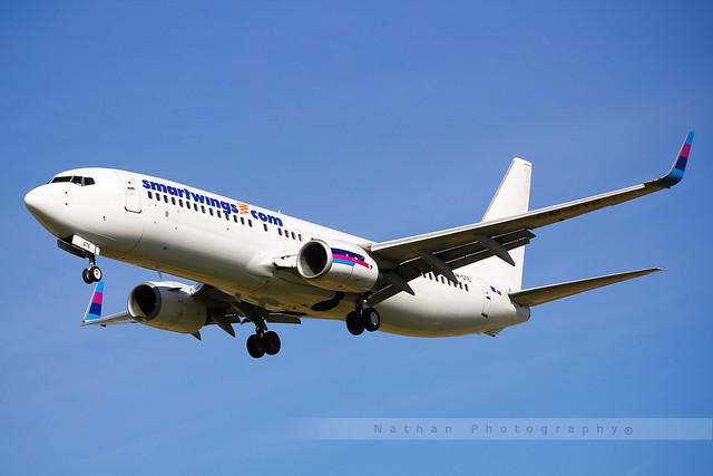 LIL - Boeing 737-8AS (OM-GTE) Go2Sky