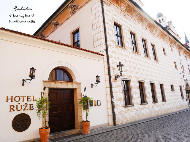 Hotel Ruze薔薇飯店Krumlov庫倫諾夫 (12)