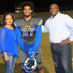 LHS Band, Cheer, Football, Sr. Recognition. 10-28-2016