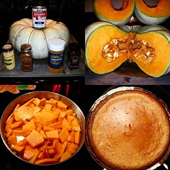 Homemade Pumpkin Pie Time!