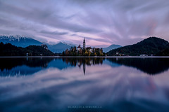 Twilight in Bled..