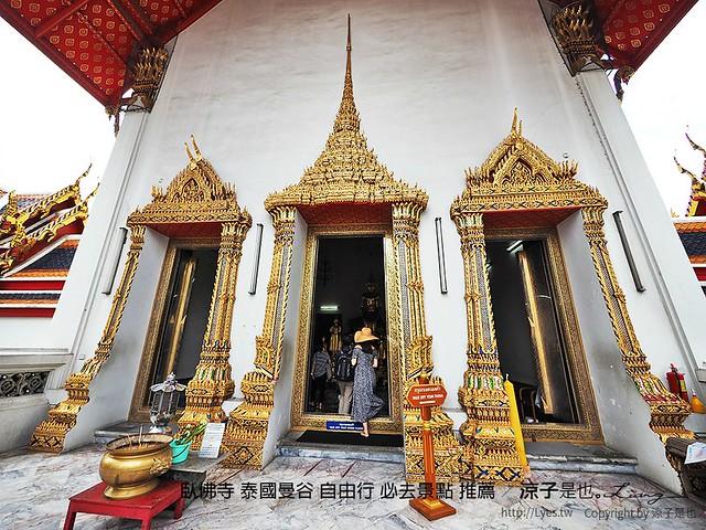 臥佛寺 泰國曼谷 自由行 必去景點 推薦 82