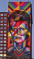 David Bowie Tribute by Eduardo Kobra