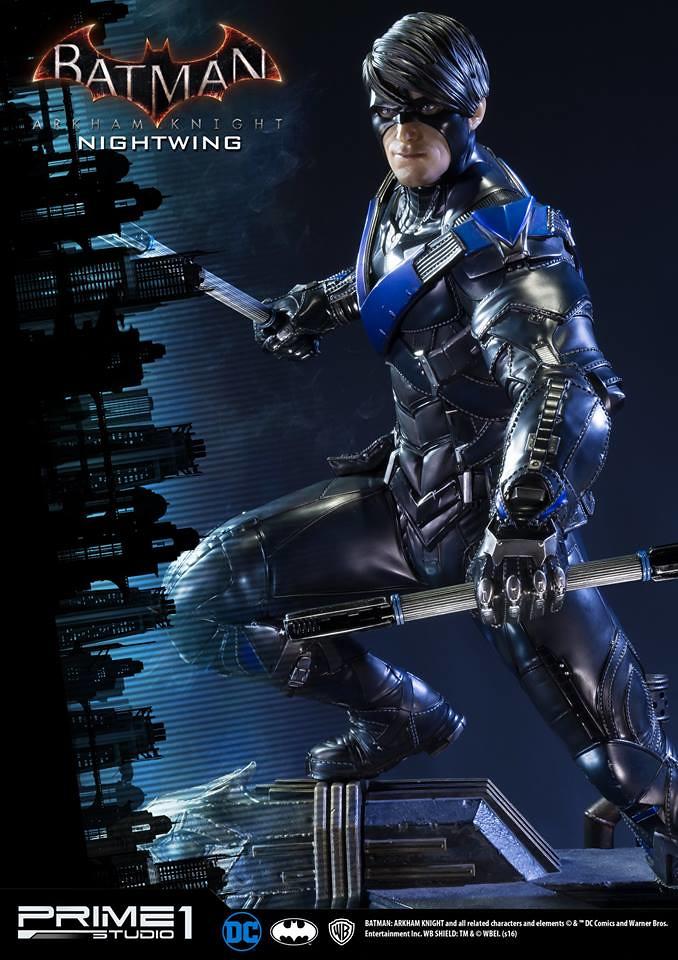 Prime 1 Studio 阿卡漢騎士【夜翼】Nightwing 1/3 比例超巨大全身雕像 MMDC-12