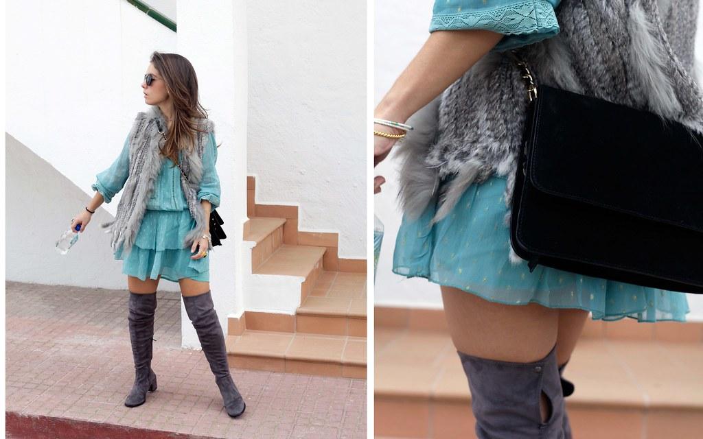 012_vestido_turquesa_y_botas_altas_girses_casual_look_theguestgirl_fashion_blogger_barcelona