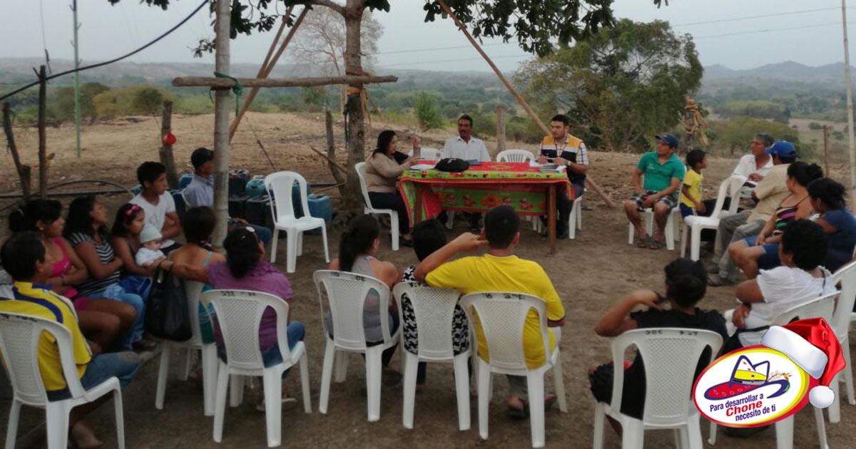 Elección del Cabildo para año 2017 en Comuna Los Mates parroquia Canuto