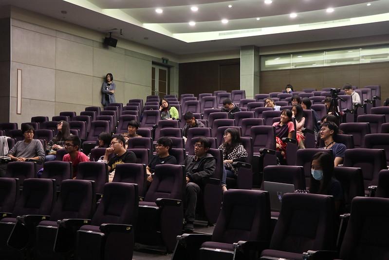 映後座談中,與談者強調台北都市拆遷保存運動與影像再現。圖/人文電影節提供。