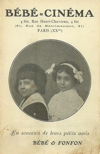 Bébé & Fonfon in Bébé-Cinéma