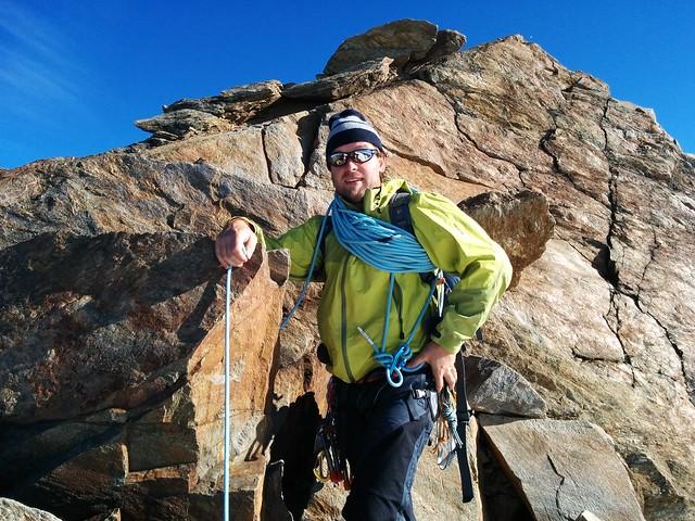Gipfelaufstieg Weißkugel
