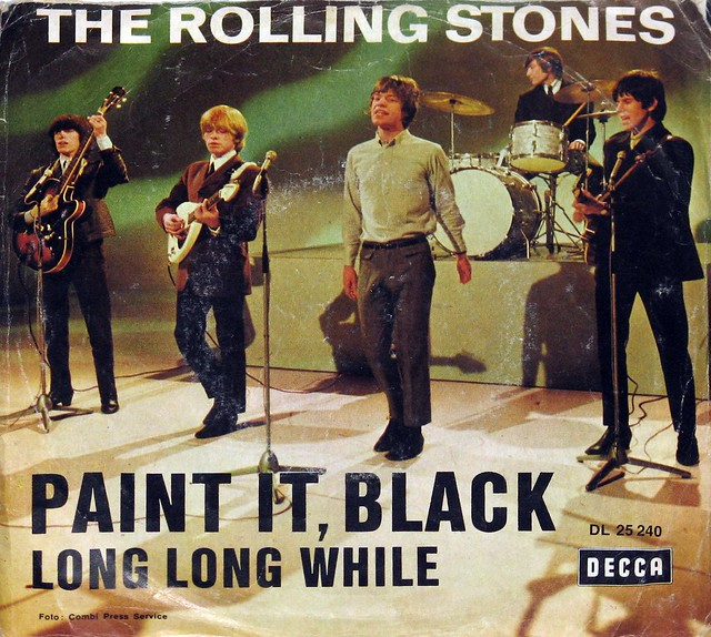 "Rolling Stones Paint it Black 7"" Single"