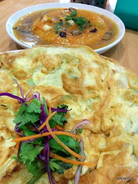 Omelette & Tofu