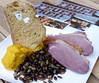 Food Market Hamburg: Schönmoorer Entenbrust mit geräucherter Gerste, Bio-Mohrrübe und Estragon