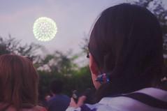 Kimono with Fireworks