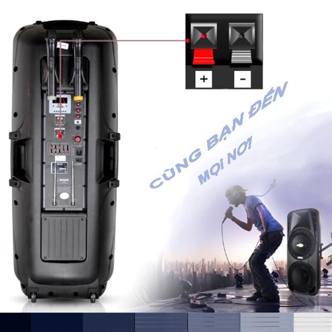 Cho thuê Loa Karaoke Bluetooth-Trợ giảng-Loa kẹo kéo công suất lớn