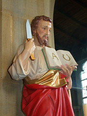 St Bartholomew and flencing knife