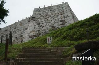 二本松城の天守閣跡