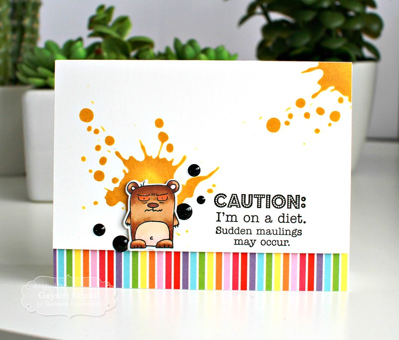 Grouchy Grumplings card #2