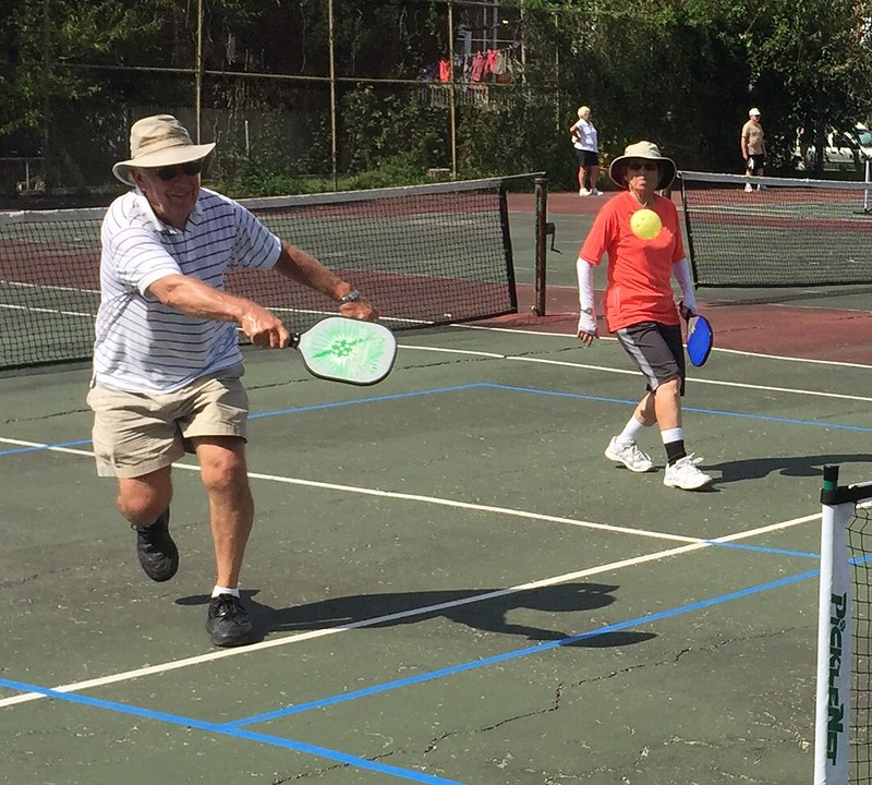 Whacking pickleball