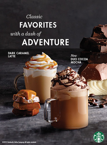 Starbucks Philippines Autumn beverage and food offerings this Sept to Nov 1, 2015
