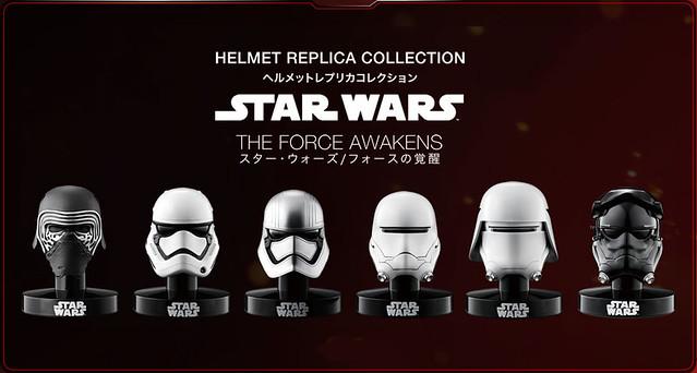 Bandai【複製頭盔收藏】《星際大戰:原力覺醒》反派角色收錄!