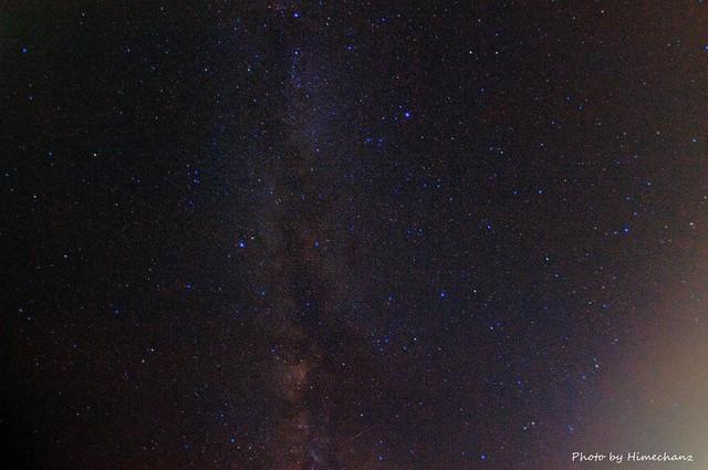 石垣島の夏の夜空。新月だと天の川が見えます♪