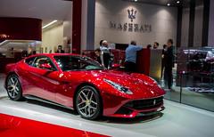Red F12 Berlinetta