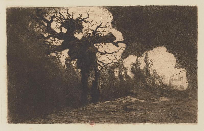 Eugene Viala - Tree Gesture, 1880-1913