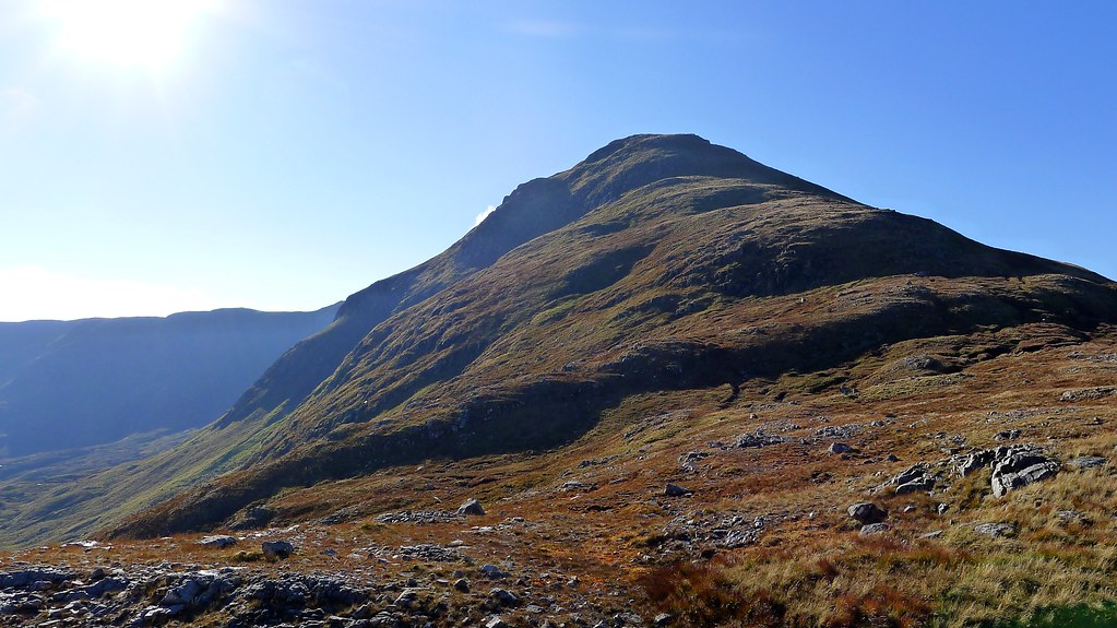 An Socach from the bealach