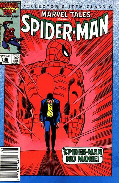 Marvel Tales 190, cover