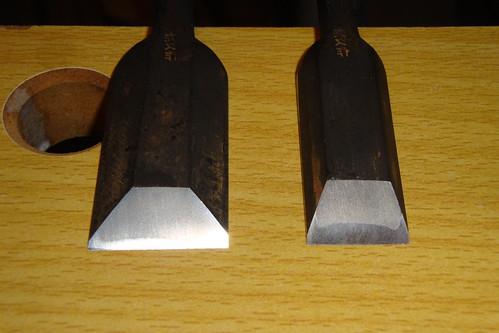 Hidari-hisasaku motise chisel