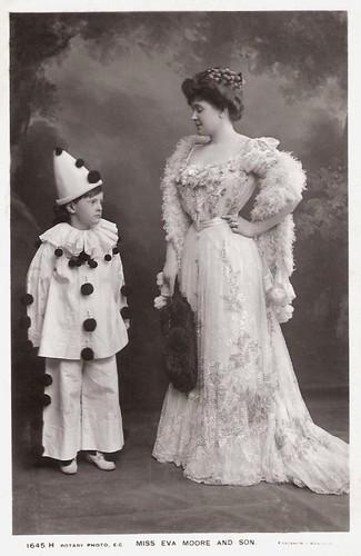 Eva Moore and son
