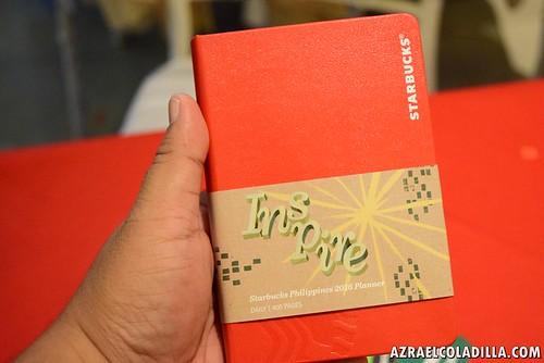 Starbucks Philippines 2016 planner