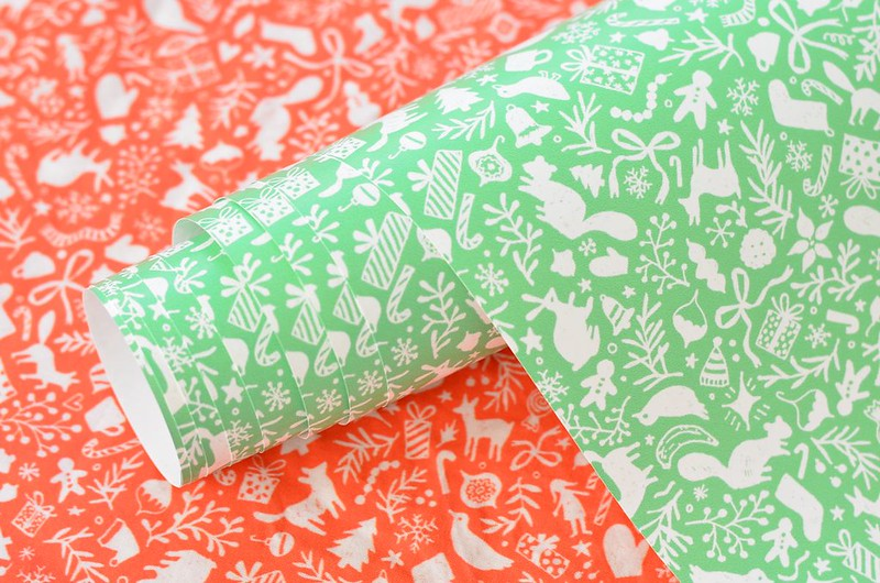 New Holiday Fabric & Wrapping Paper