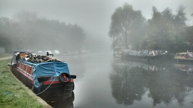 Fog on the Lee Valley