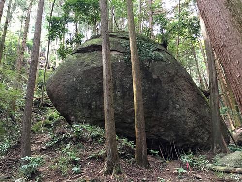 Big Rock called Kameishi(Atsugi, Japan)